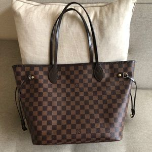 Authentic Louis Vuitton Neverfull tote